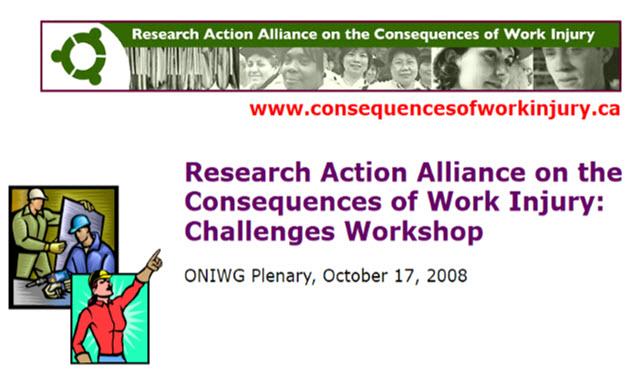 ONIWG conference presentation