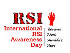 RSI Awareness Day logo