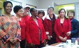 Justice Singers choir practice