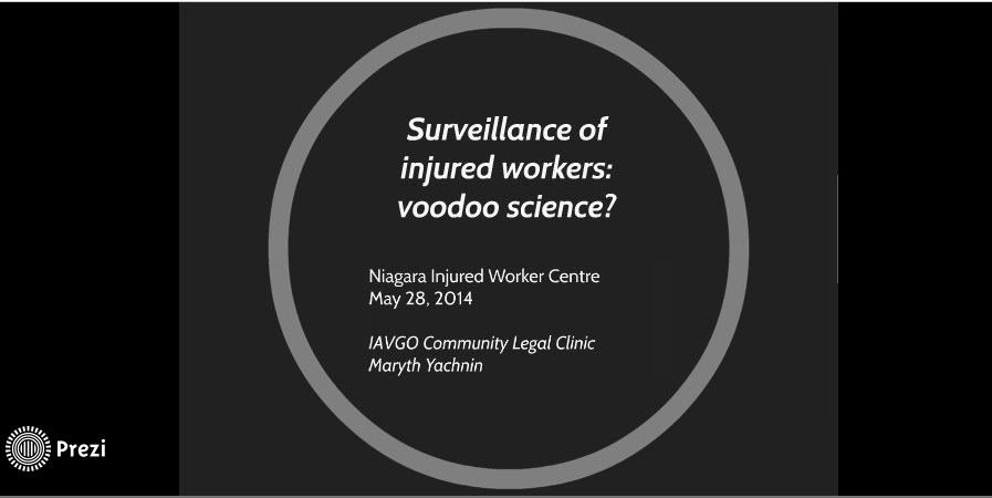 Surveillance - voodoo science?