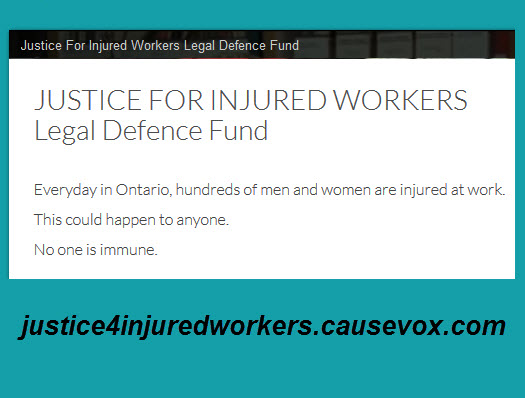 Justice for Injured Workers Legal Defence website