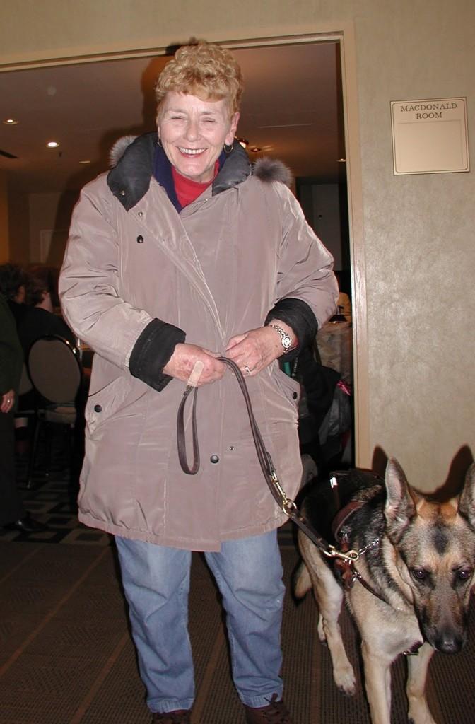 Carol McGregor and Xayla (IWC)