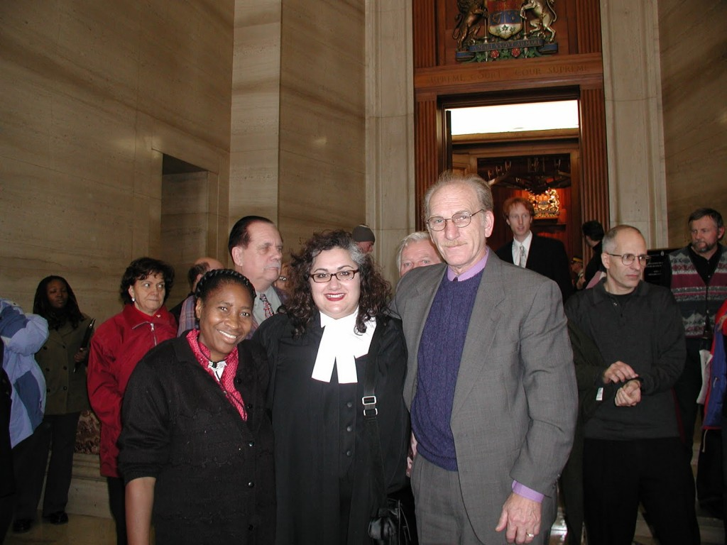 Monica Wright (Injured Worker), Ena Chadha (ARCH), Karl Crevar (ONIWG)