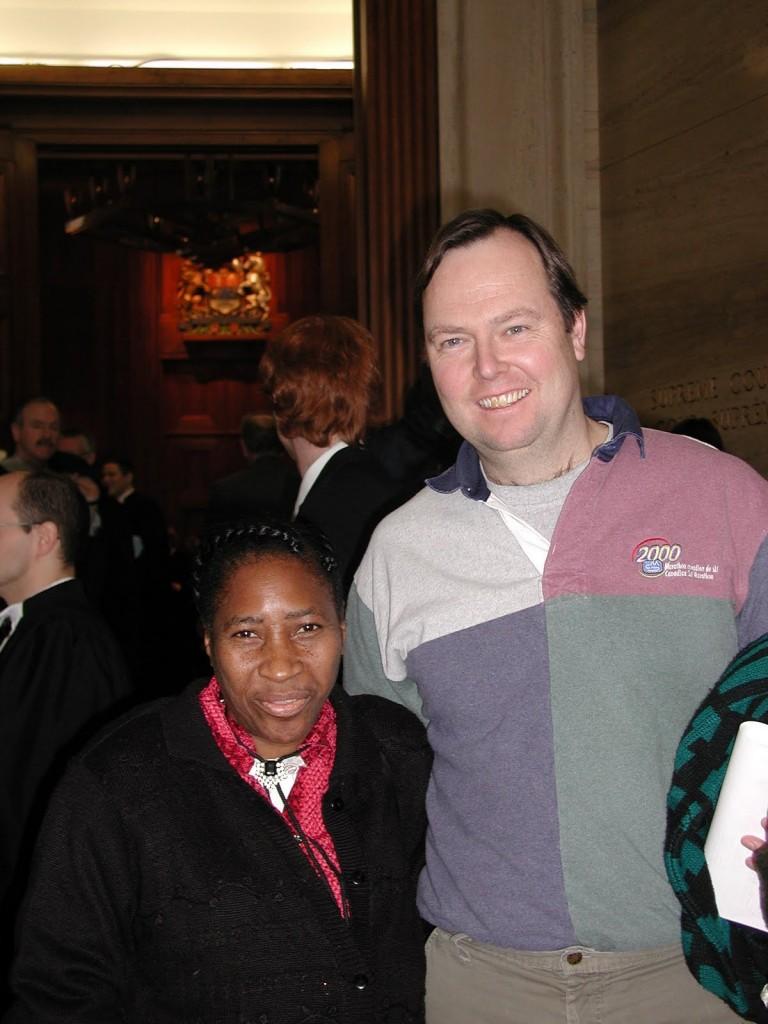 Monica Wright (Bright Lights), Peter Bird (IWC Board Chair)
