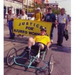 Richard Hudon on trike