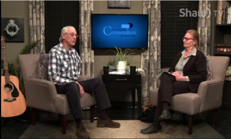 Steve & Marion on Community Conversations TV program