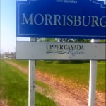 along the road to Morrisburg