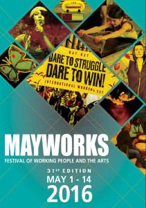 Mayworks 2016 poster