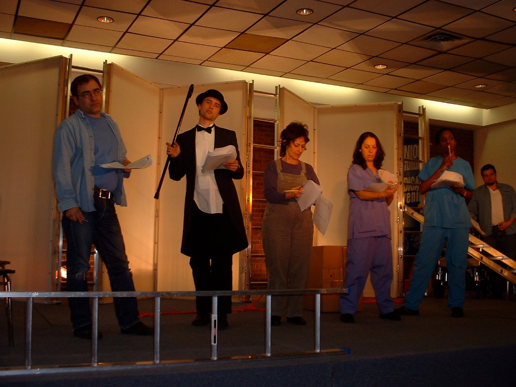 First performance of Easy Money at Mayworks 2005