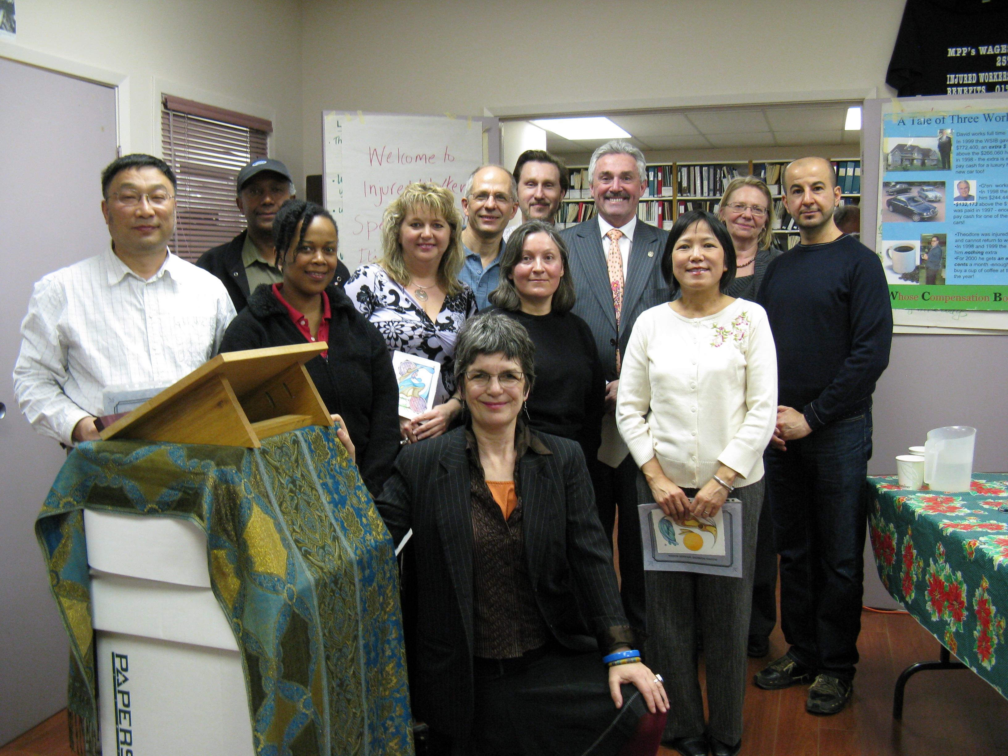 Graduating class group photo 2011