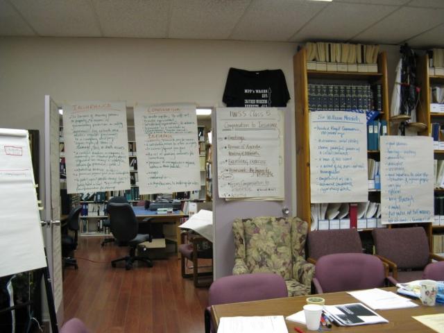 Inside the Speaker School classroom