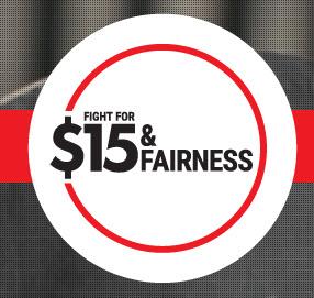 logo for Fight for $15 & Fairness