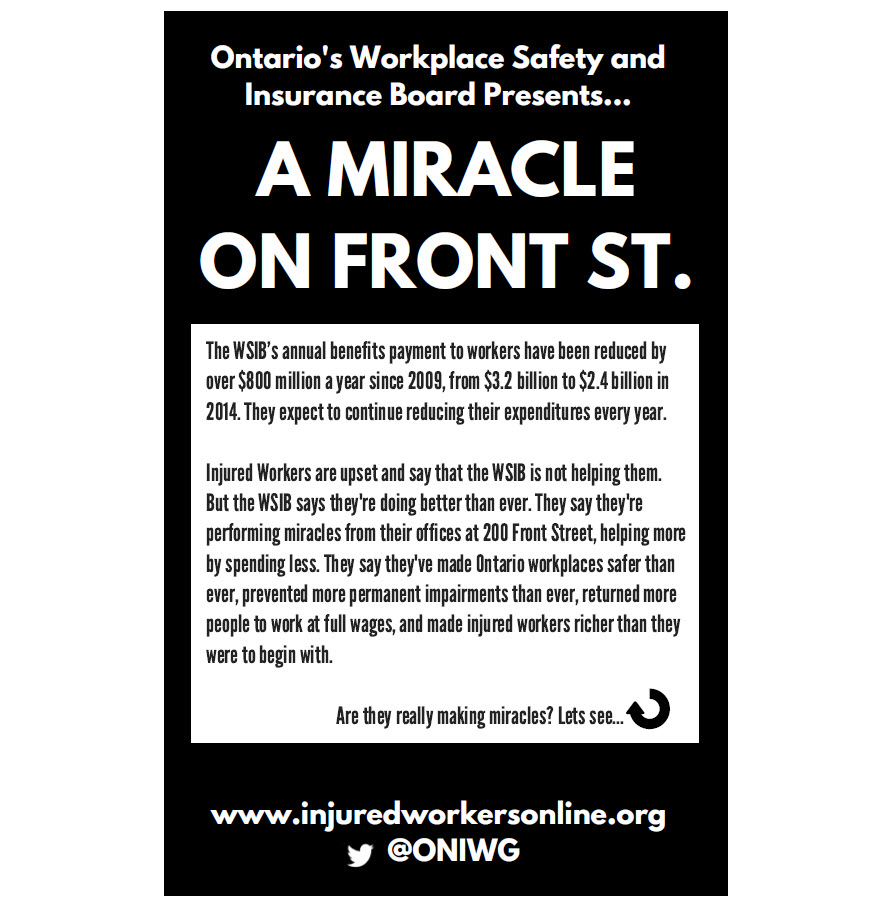 Questioning WSIB's Miracle on Front St