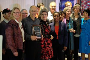IWC and injured workers with community Mayworks award