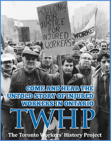 Toronto Workers History Project poster