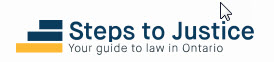 logo for Steps to Justice