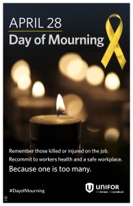 Day of Mourning poster 2017