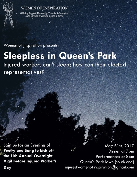 2017 Women of Inspiration Vigil poster