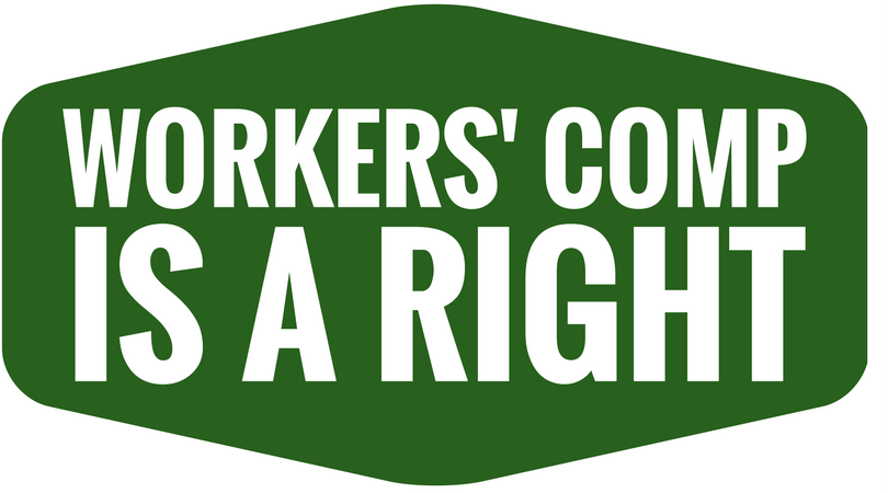 Workers Comp is a Right logo