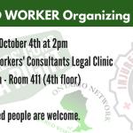 October 4 – Toronto Injured Worker Organizing Meeting
