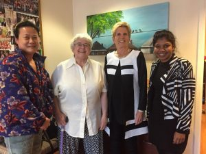 "Bright Lights members with Premier Kathleen Wynne Jan. 26, 2018  (<a href=""https://injuredworkersonline.org/taking-a-message-to-the-premier/"">read more</a> on their meeting)"