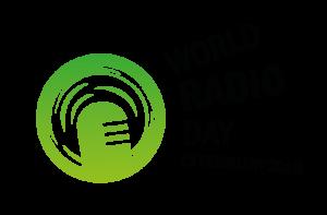 logo for World Radio Day 2018