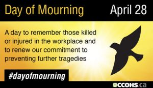link to Day of Mourning events around Ontario