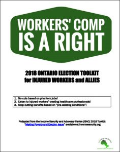 WCIAR 2018 Ontario election toolkit