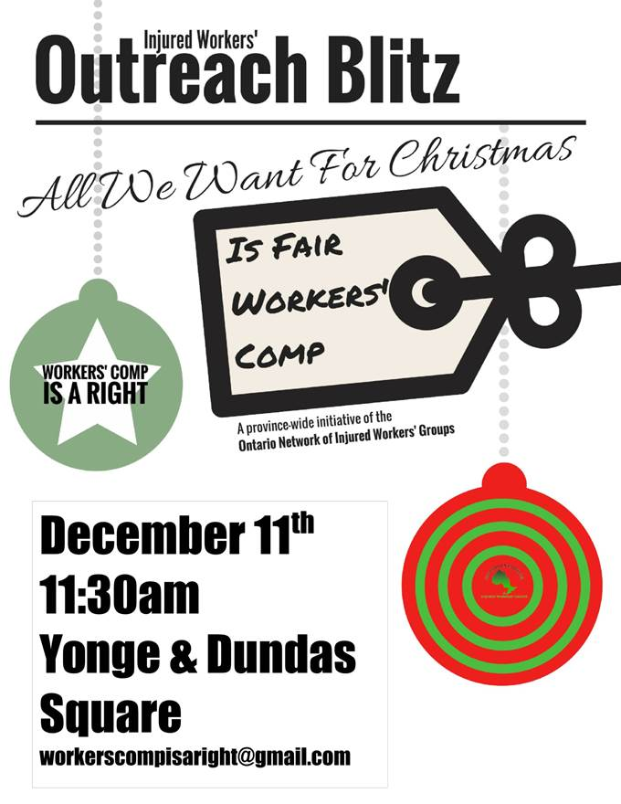 Flyer for December 2018 demo