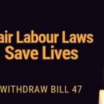 Fair labour laws poster