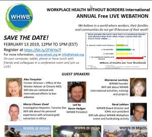 Workplace Health Without Borders flyer
