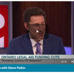 TVO The Agenda program on funding cuts to legal aid