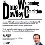 Flyer for visit Downey Barrie office