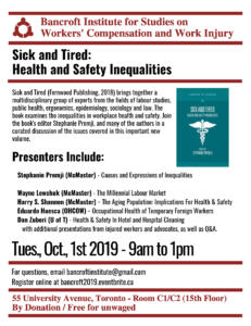 Bancroft Oct 2019 discussion flyer