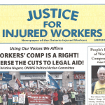 Justice for Injured Workers October 2019 cover page