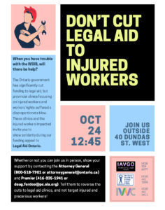 rally flyer - don't cut legal aid