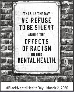 Black Mental Health Day poster
