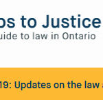 link to Steps to Justice updates on COVID-19