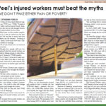 Article on stigma and deeming of injured workers in Tough Times