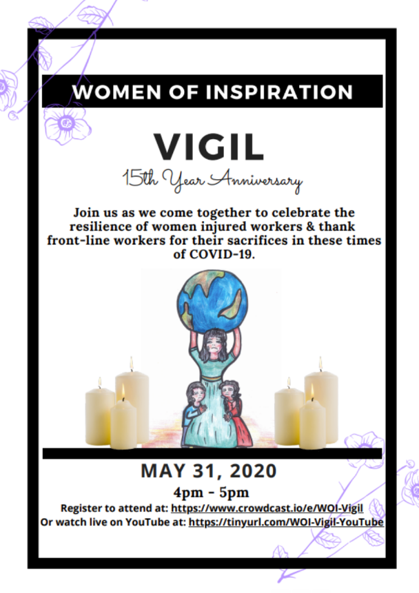 2020 Women of Inspiration vigil