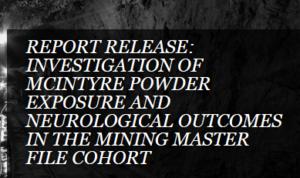 Demers report on McIntyre Powder