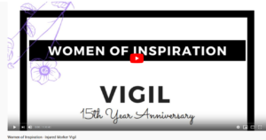 link to the Women of Inspiration 2020 vigil video
