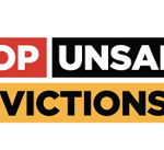 link to letter to the government on stopping unsafe evictions