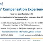 Lakehead worker compensation experience study