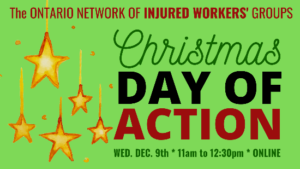 ONIWG Day of Action December 9 poster