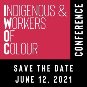 Indigenous & Workers Day of Colour sign