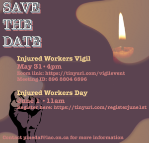 Register for Vigil and June 1st