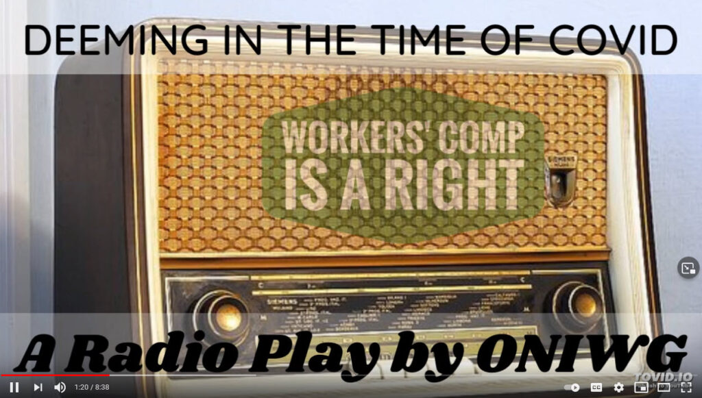 Deeming in the time of COVID-19 radio play