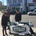 Toronto campaign outreach on the Danforth